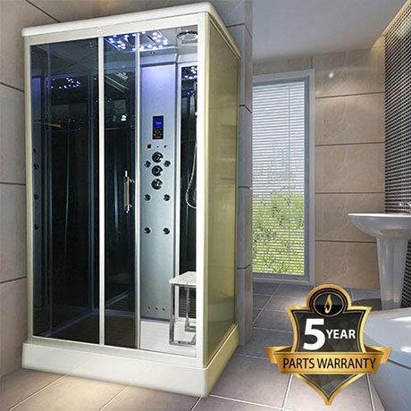 Insignia Steam Shower Cabin 1100 x 890mm - INS9001