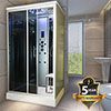 Insignia Steam Shower Cabin 1100 x 890mm - INS9001 profile small image view 1