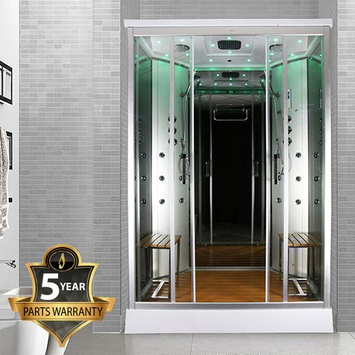 Insignia Two Person Steam Shower Cabin - INS9005 Large Image