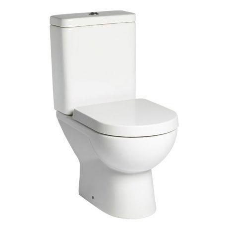 Tavistock Ion Close Coupled WC & Soft Close Seat