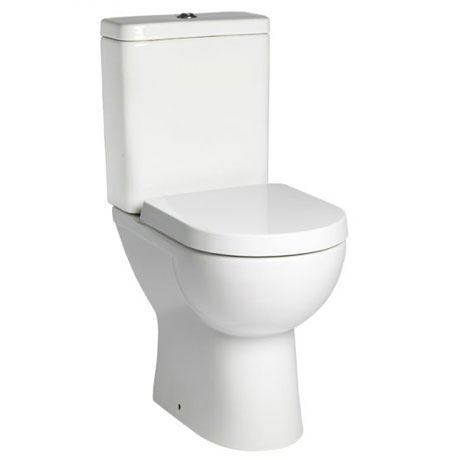 Tavistock Ion Comfort Height Close Coupled WC & Soft Close Seat