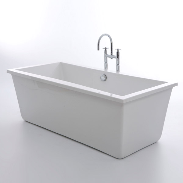 Royce Morgan Iona 1750 Luxury Freestanding Bath with Waste profile large image view 1