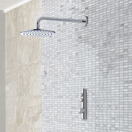 Aqualisa iSystem Smart Shower Concealed with Wall Fixed Head