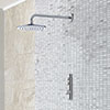 Aqualisa iSystem Smart Shower Concealed with Wall Fixed Head profile small image view 1