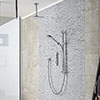 Aqualisa iSystem Smart Shower Concealed with Adjustable and Ceiling Fixed Heads profile small image view 1