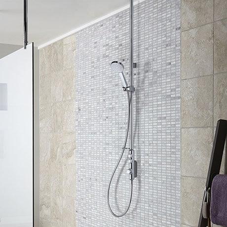 Aqualisa iSystem Smart Shower Exposed with Adjustable Head