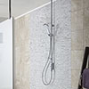 Aqualisa iSystem Smart Shower Exposed with Adjustable Head profile small image view 1