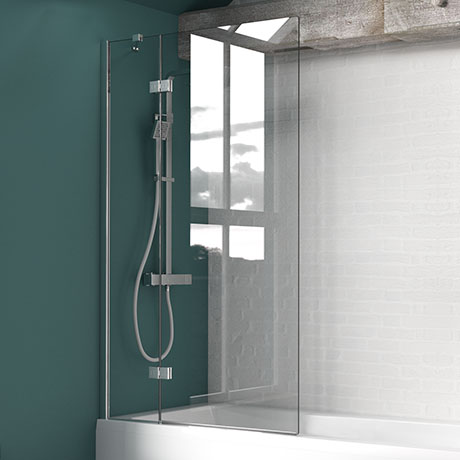 KUDOS Inspire 8mm Two Panel In-Swing Bathscreen