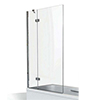 KUDOS Inspire 6mm Two Panel In-Swing Bathscreen profile small image view 1
