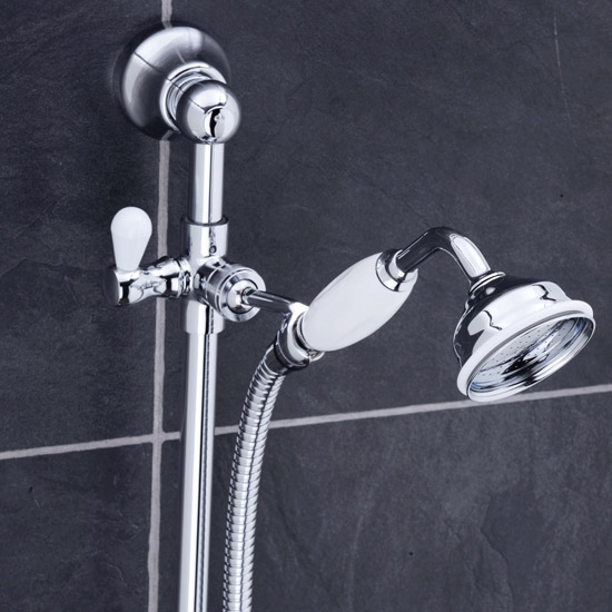 Traditional Shower Slide Rail Kit - Chrome - ITY310 profile large image view 2