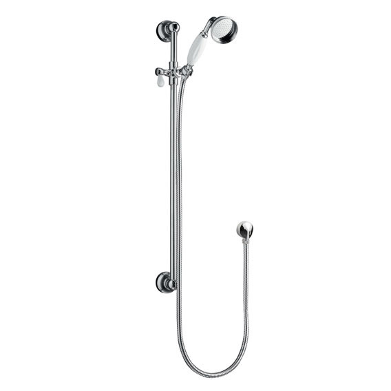 Traditional Shower Slide Rail Kit - Chrome - ITY310 Large Image