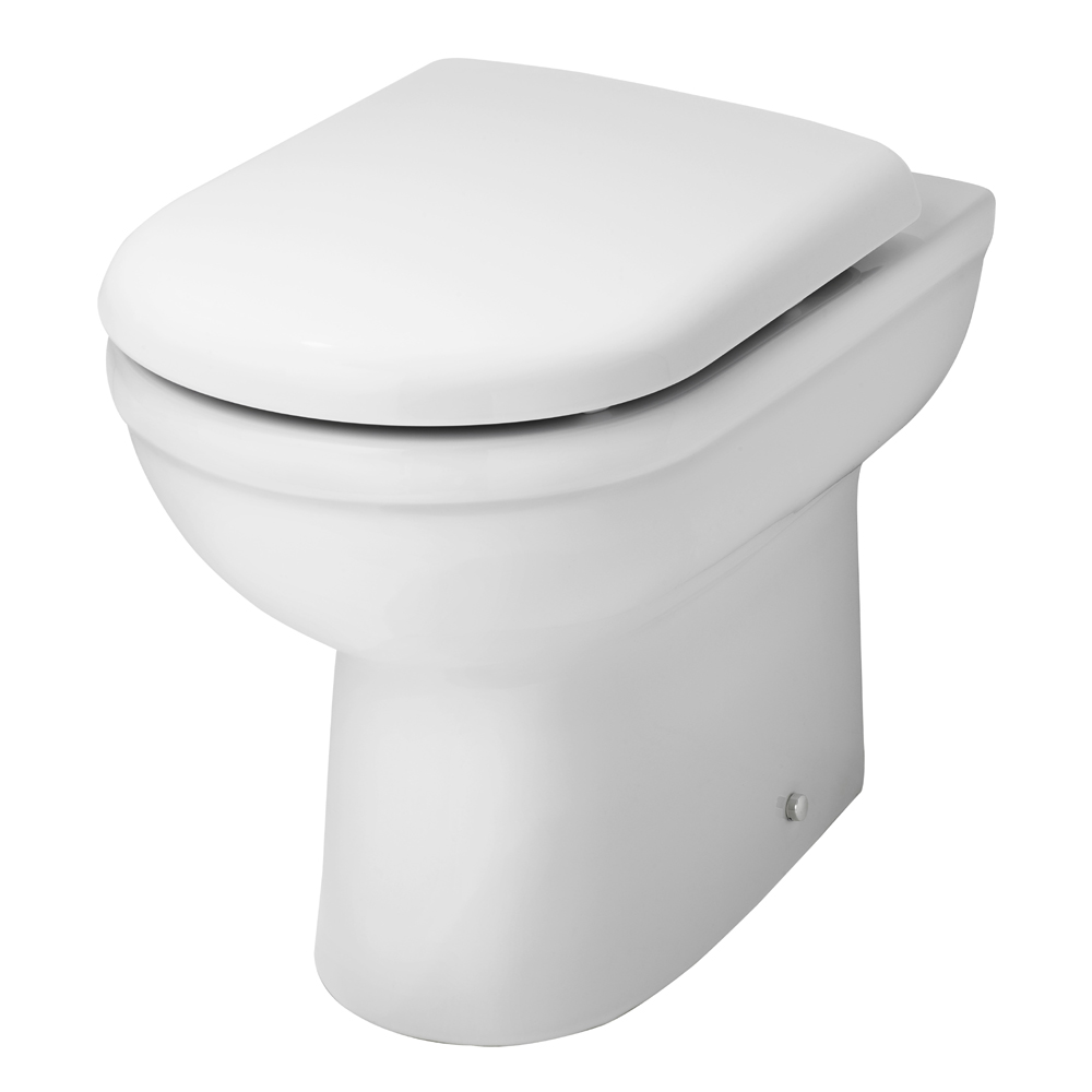 Nuie Ivo Comfort Height Back to Wall Pan + Soft Close Seat