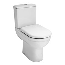 Premier Ivo Comfort Height Close Coupled Toilet with Soft Close Seat Medium Image