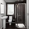 Ivo En Suite Bathroom Suite Set - 2 Sizes Available profile small image view 1