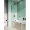Crosswater Infinity 8 Double Panel Bath Screen - IWBDSC1060+ profile small image view 1