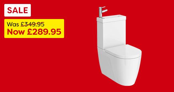 Iconic Basin & Toilet Combo