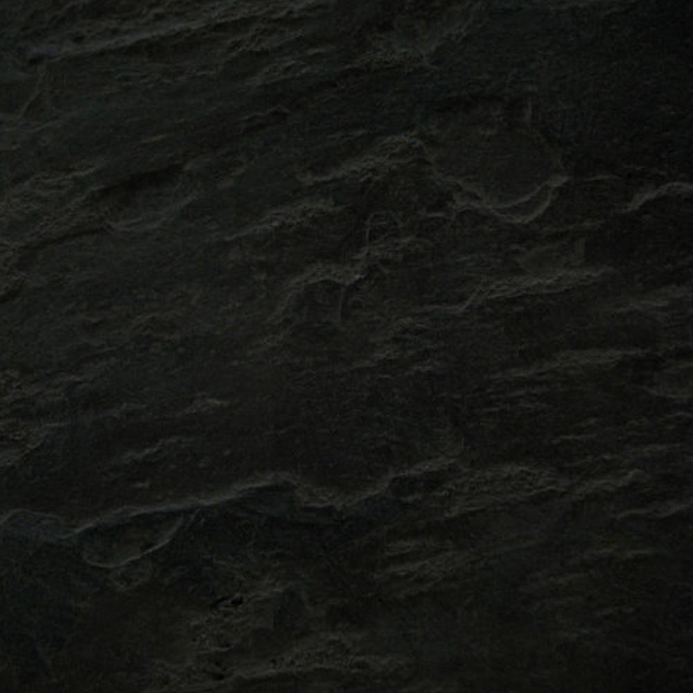 Imperia Black Slate Effect Quadrant Shower Tray 800 x 800mm Inc. Chrome Waste Profile Large Image