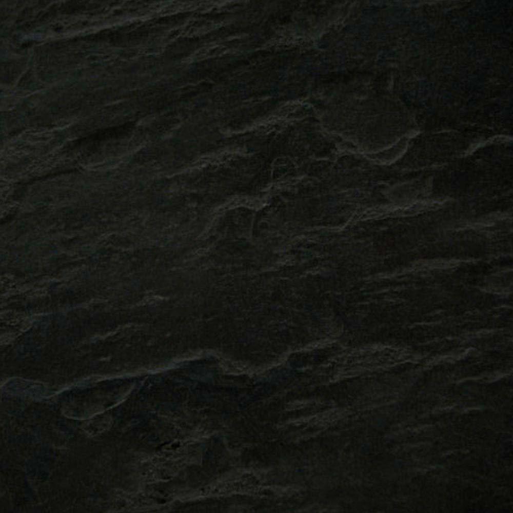 Imperia Black Slate Effect Square Shower Tray 800 x 800mm Inc. Chrome Waste  Profile Large Image