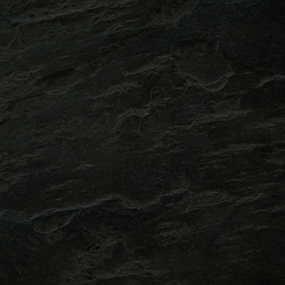 Imperia Black Slate Rectangular Shower Tray 1400 x 900mm Inc. Chrome Waste Profile Large Image