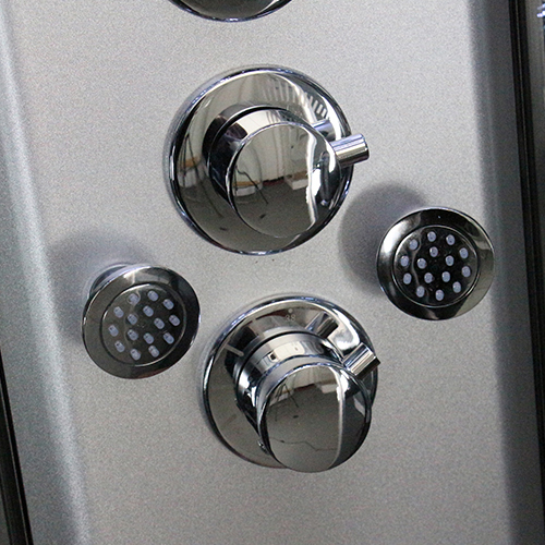 Insignia - Steam Shower Cabin 900 x 900mm - INS8727 profile large image view 4