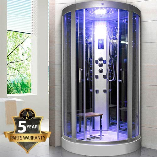 Insignia - Steam Shower Cabin with Mirrored Backwalls - GT6000 Large Image
