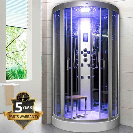 Insignia - Steam Shower Cabin with Mirrored Backwalls - GT6000
