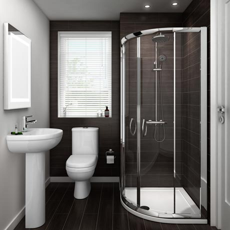Ivo En Suite Bathroom Suite Set - 2 Sizes Available