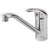 Bristan Java Single Flow Easyfit Sink Mixer Chrome profile small image view 1