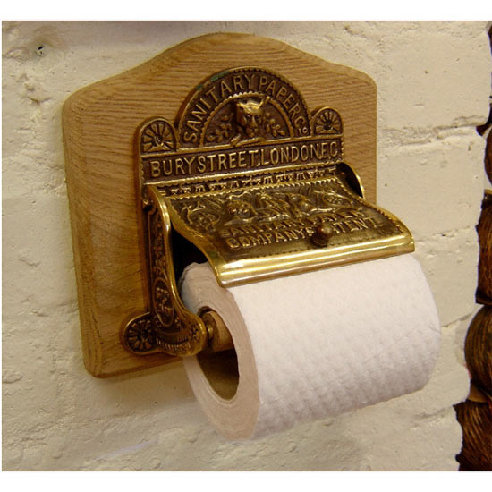Sanitary Paper Co Toilet Roll Holder - J394 profile large image view 1