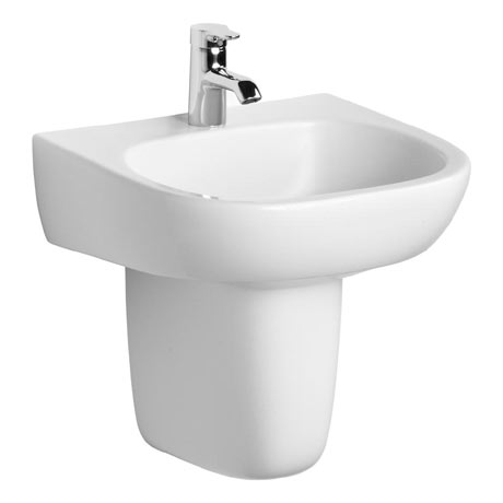 Ideal Standard Jasper Morrison 50cm 1TH Basin & Semi Pedestal
