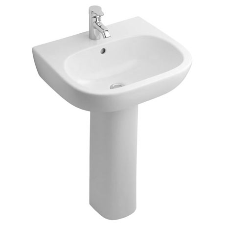 Ideal Standard Jasper Morrison 55cm 1TH Basin & Pedestal