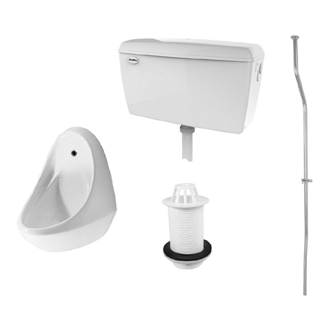 RAK Concealed Urinal Pack with 1 Jazira Urinal Bowl