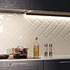 Jasper Metro Beige Bevelled Wall Tiles - 100 x 300mm Small Image