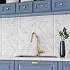 Jasper Metro Carrara Bevelled Wall Tiles - 100 x 300mm Small Image