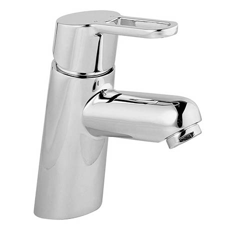 Bristan Jive Eco Click Mono Basin Mixer Chrome (no waste) - JI-EBAS-C