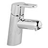 Bristan Jive Eco Click Mono Basin Mixer Chrome (no waste) - JI-EBAS-C profile small image view 1