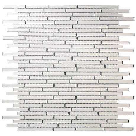 Glass Sparkle Mirror Mosaic Tile Sheet - Julien Macdonald - 300 x 300mm