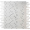 Glass Sparkle Mirror Mosaic Tile Sheet - 300 x 300mm profile small image view 1
