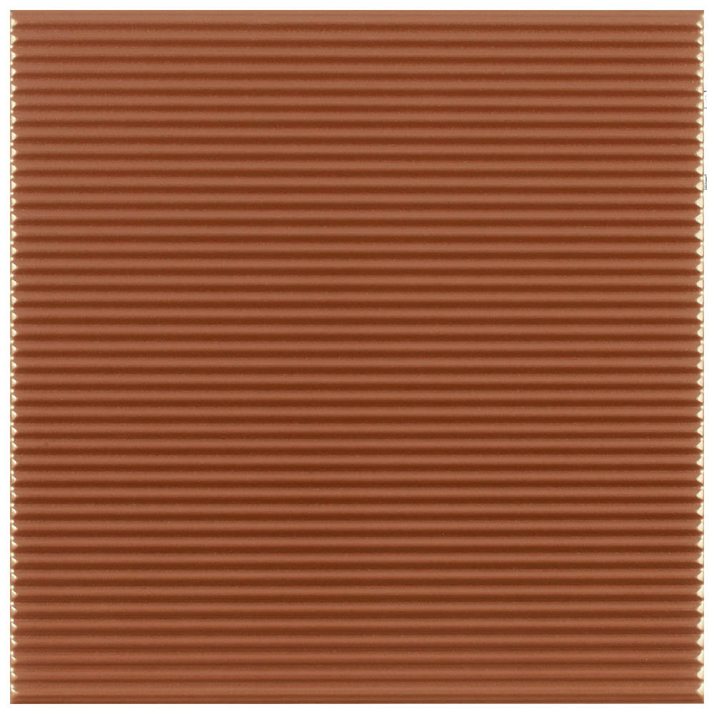 Copper Stripe Textured Wall Tiles - 250 x 250mm