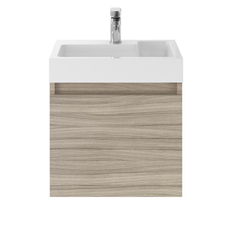 Juno 500 x 360mm Driftwood Wall Hung Vanity Unit