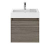 Juno 500 x 360mm Grey Avola Wall Hung Vanity Unit Medium Image