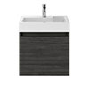 Juno 500 x 360mm Hacienda Black Wall Hung Vanity Unit Medium Image