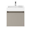 Juno 500 x 360mm Stone Grey Wall Hung Vanity Unit