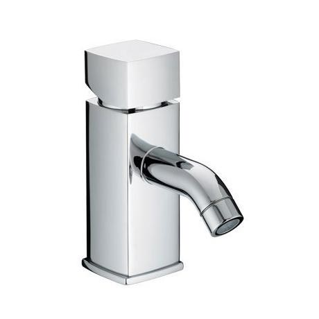 Bristan JS2 Contemporary 1 Hole Bath Filler - Chrome - JS2-1HBF-C