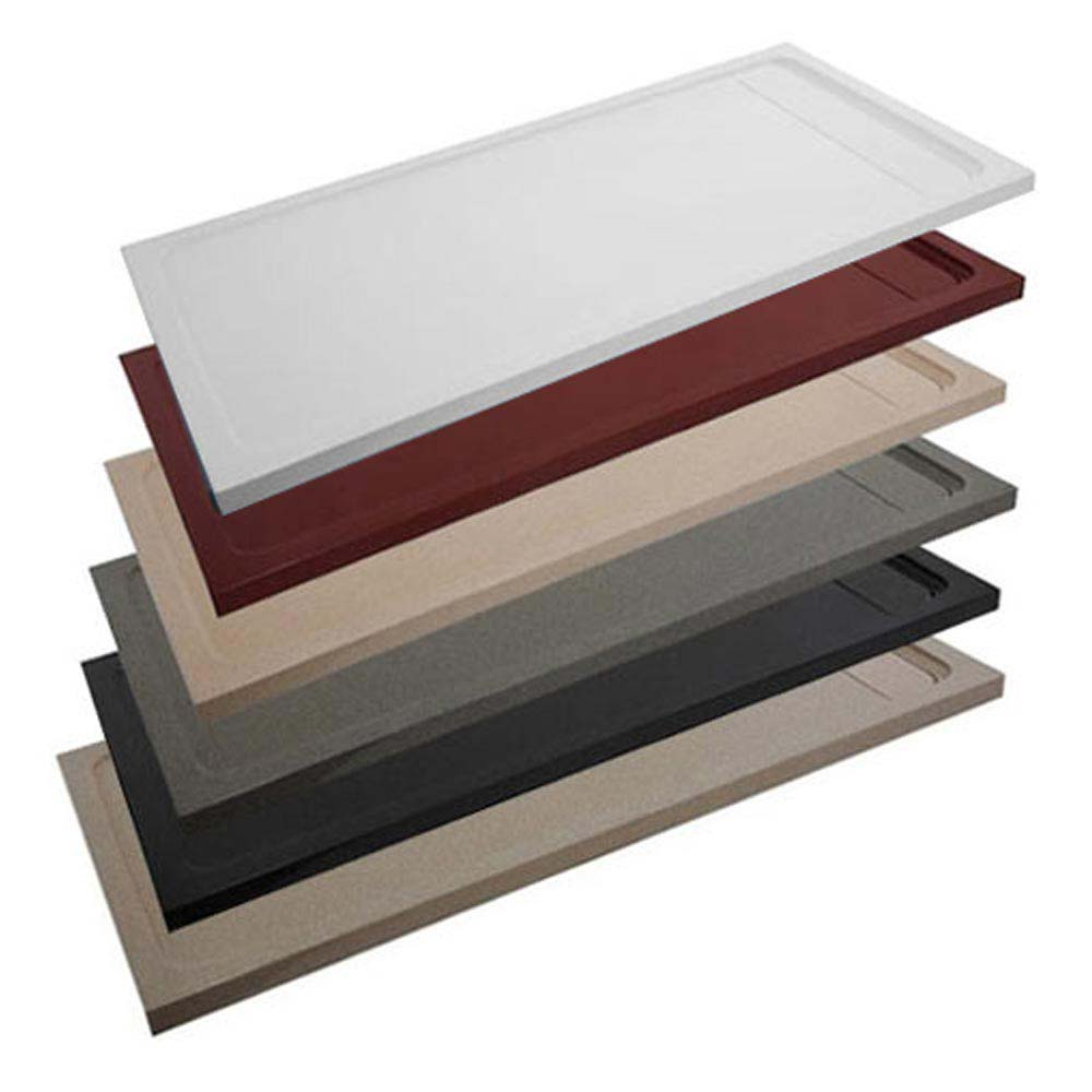 JT Natural - Rectangular Shower Tray - 8 x Sizes, Various Colour Options Large Image
