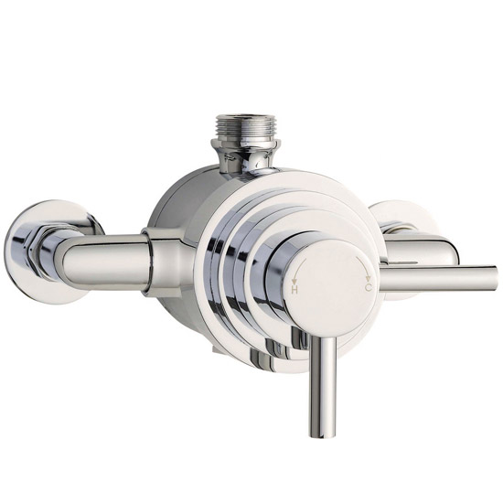 Series F II Dual Exposed Thermostatic Shower Valve - Chrome - JTY026 Large Image