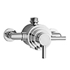 Nuie Series F II Dual Exposed Thermostatic Shower Valve - Chrome - JTY026 profile small image view 1