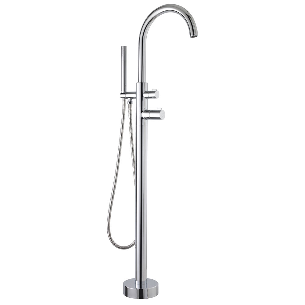 Ultra Thermostatic Freestanding Bath Shower Mixer - JTY384 Large Image