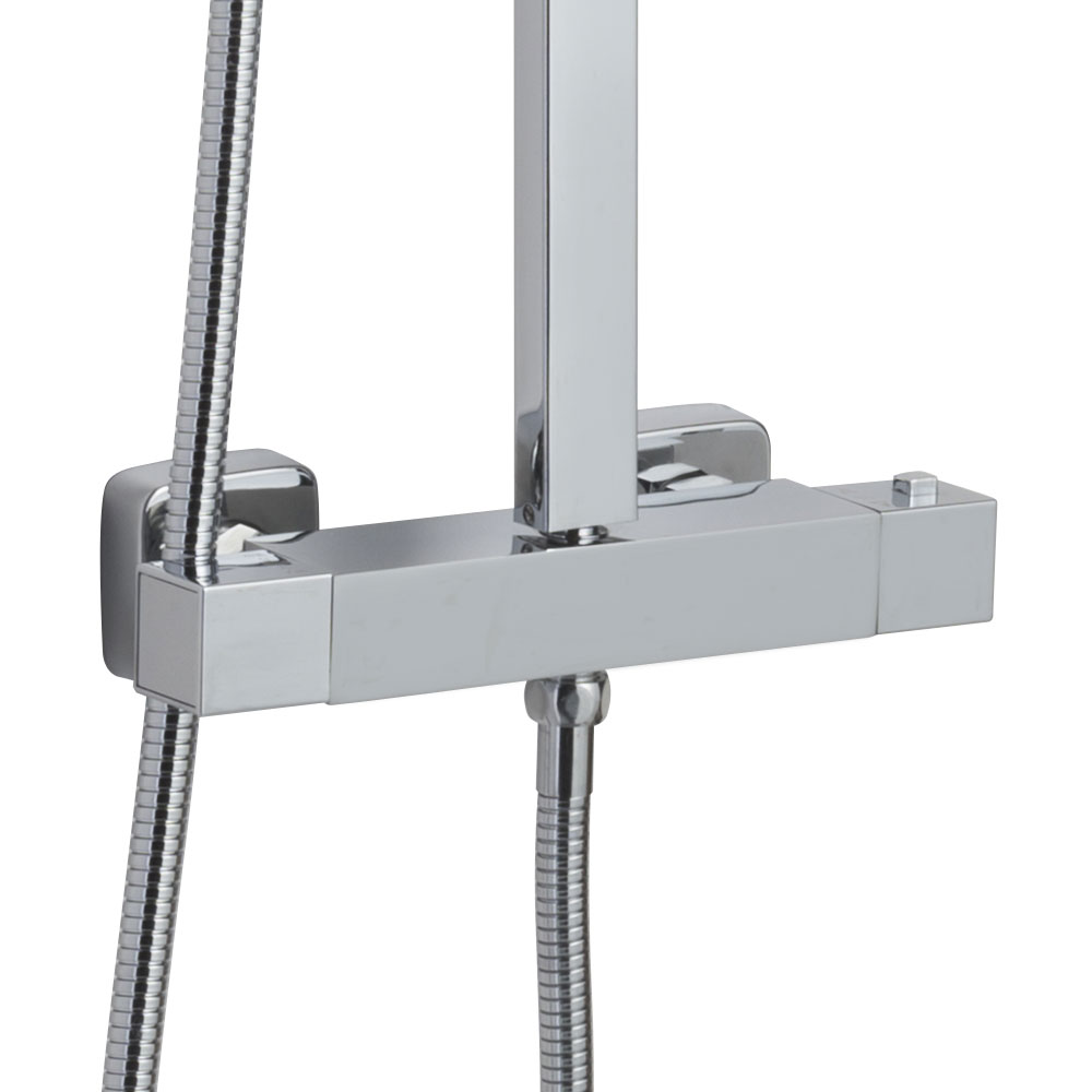 Ultra Thermostatic Bar Valve and Shower Kit - JTY386 Feature Large Image