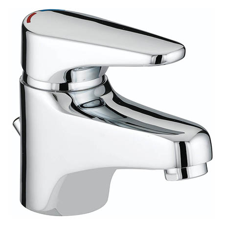 Bristan - Jute Basin Mixer With Pop Up Waste - Chrome - JU-BAS-C